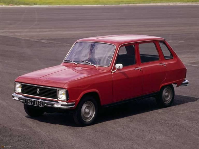 10 curiosidades del Renault 6 que debes conocer