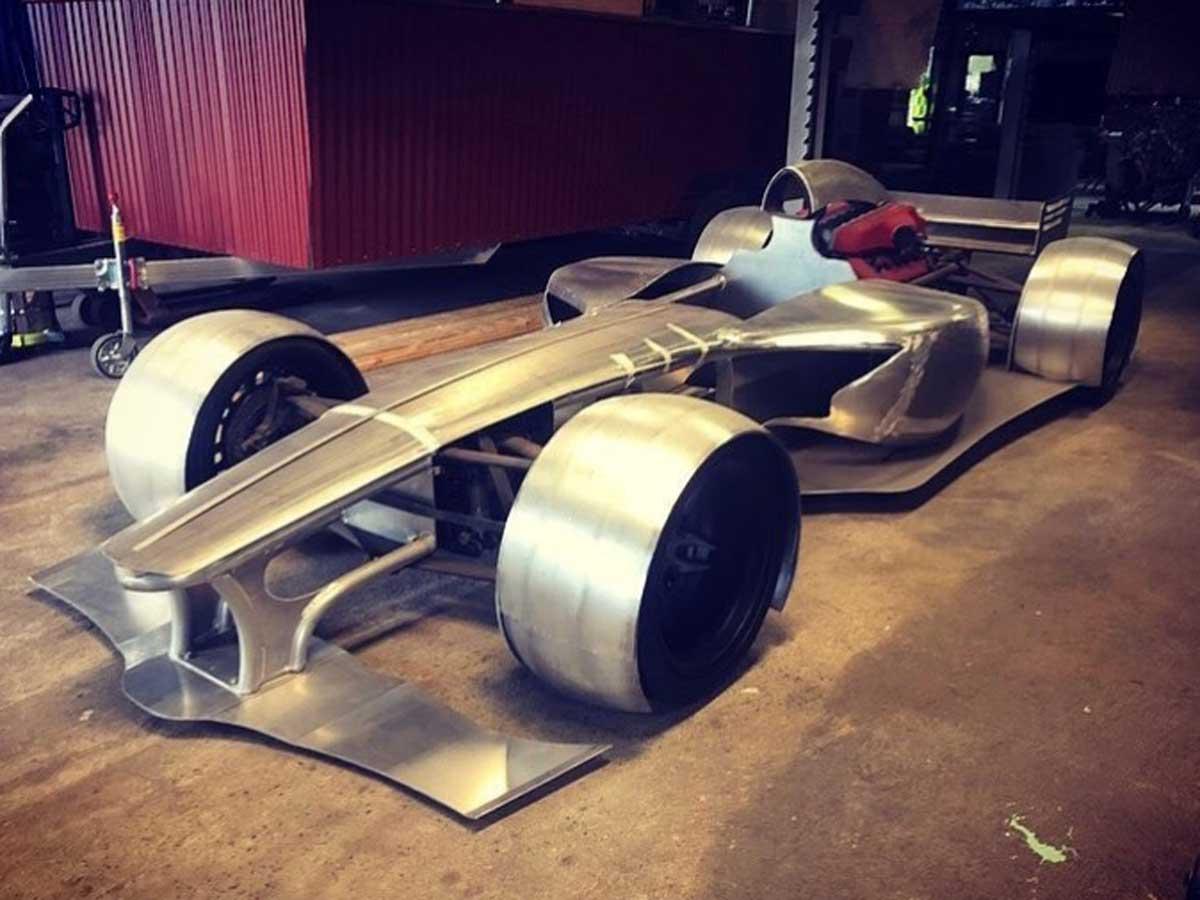 réplica Fórmula 1