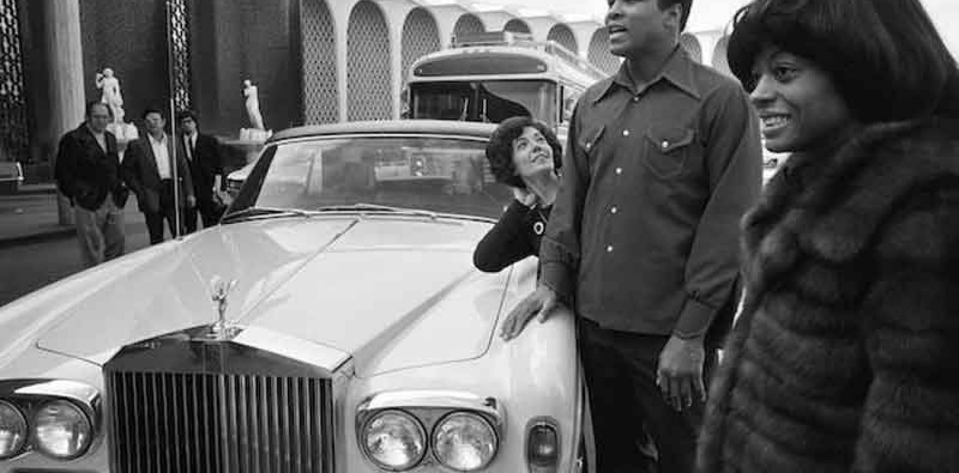 Sale a subasta un Rolls-Royce que perteneció a Muhammad Ali