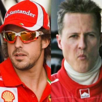 Domenicali se pronuncia: ¿mejor Fernando Alonso o Michael Schumacher?