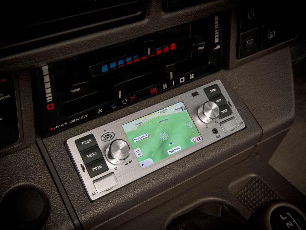 sistemas de infoentretenimiento para Land Rover