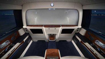 suite privada del Rolls-Royce Phantom