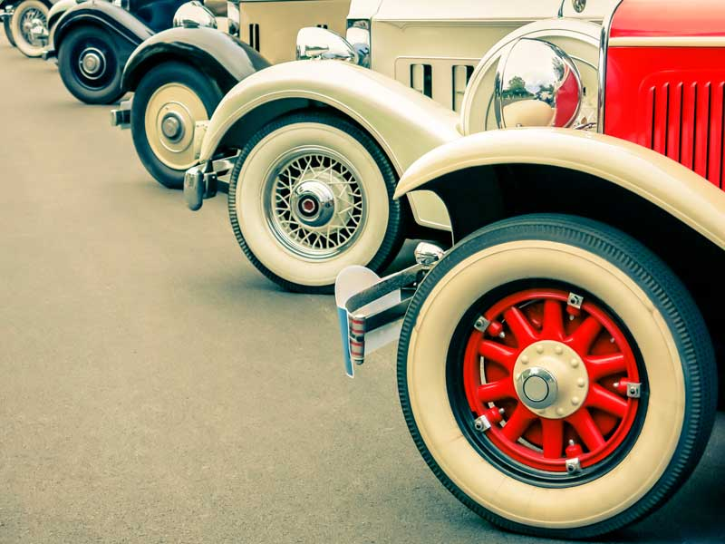 mantenimiento coche clásico