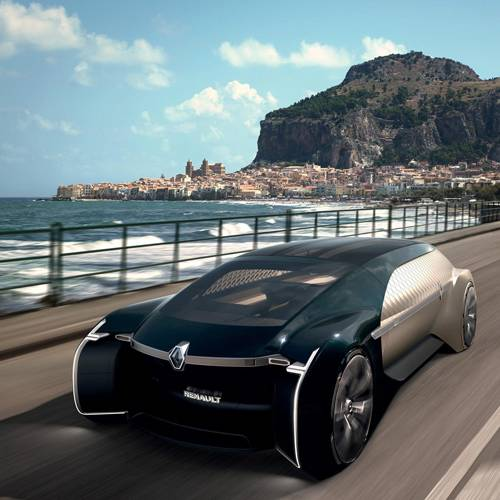 El lujo del futuro: descubre la primera limusina autónoma de Renault