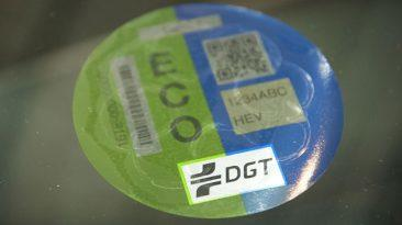 etiqueta DGT