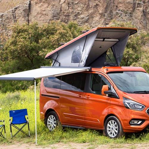 Ford Tourneo Custom by Tinkervan, en la Ruta Imperial 2018