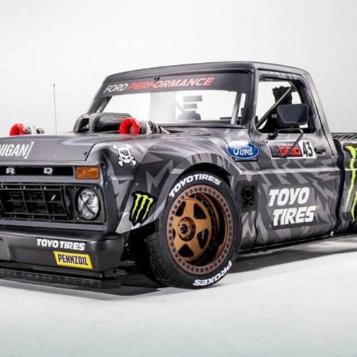 El nuevo juguete de Ken Block es una camioneta de 914 CV
