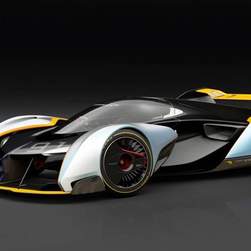 De los videojuegos a la calle: el McLaren Ultimate Vision del Gran Turismo se hará realidad
