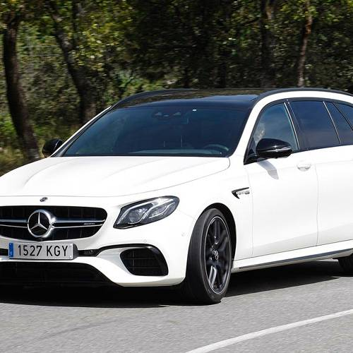 Prueba del Mercedes-AMG E 63 Estate: valores de vida