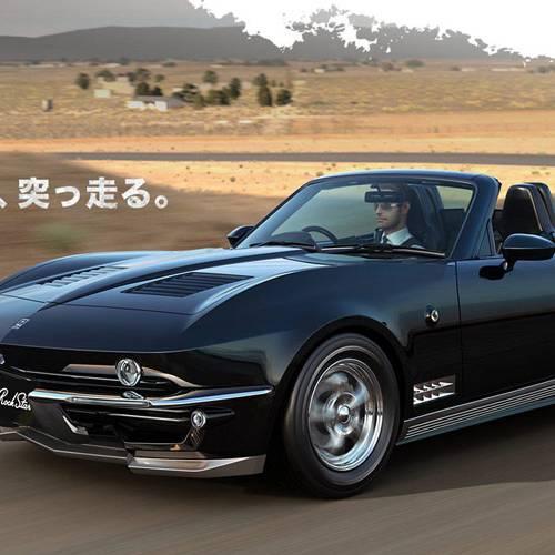 Mitsuoka Rock Star, el regreso del Chevrolet Corvette II ya está a la venta
