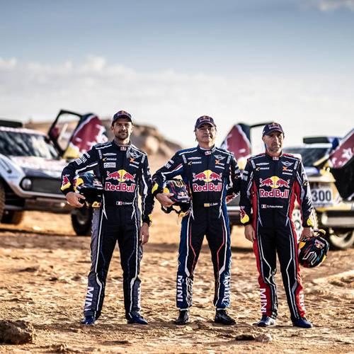 Carlos Sainz no se cansa de ganar: ficha por MINI para el próximo Dakar