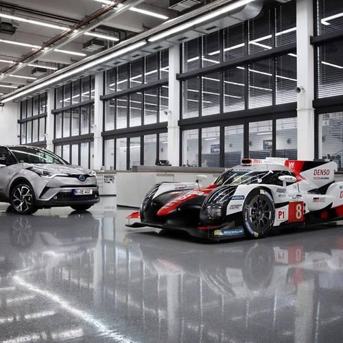 La tecnología híbrida eléctrica de Toyota: de la competición a los modelos de calle