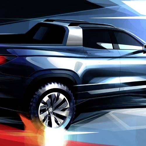 Volkswagen pick-up concept compacto: ¿llegará a Europa?