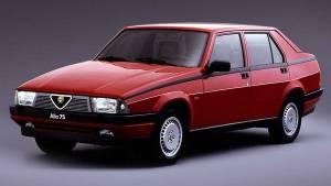 Alfa Romeo 75, la historia del último romántico