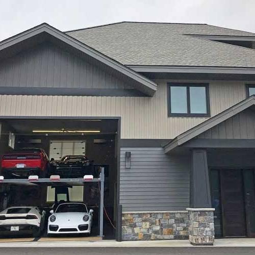 Construye la casa de sus sueños dentro de un circuito de carreras