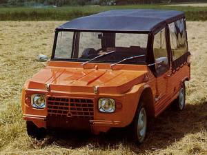 Carrocería del Citroën Mehari