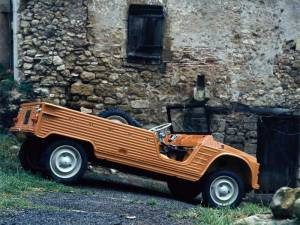Evolución del Citroën Mehari