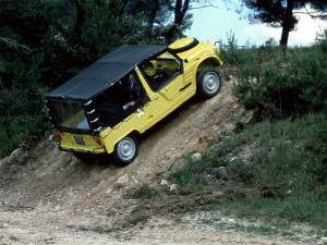 Motor y transmisión del Citroën Mehari