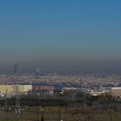 La calidad del aire en España no alcanza el aprobado