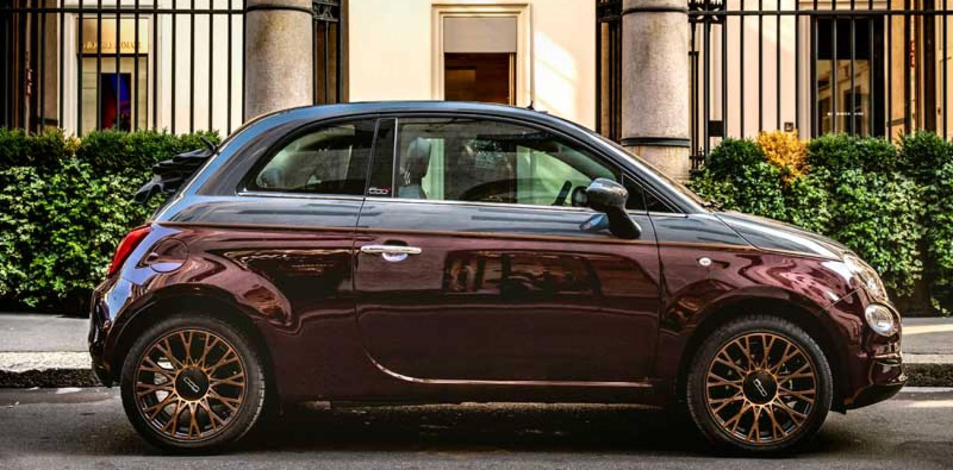 Conocemos en persona al Fiat 500 Collezione: pasarela de gala