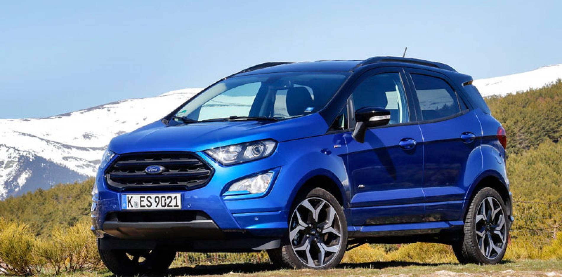 Probamos el Ford EcoSport: un tipo feliz