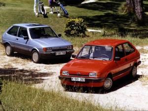 La segunda generación del Ford Fiesta