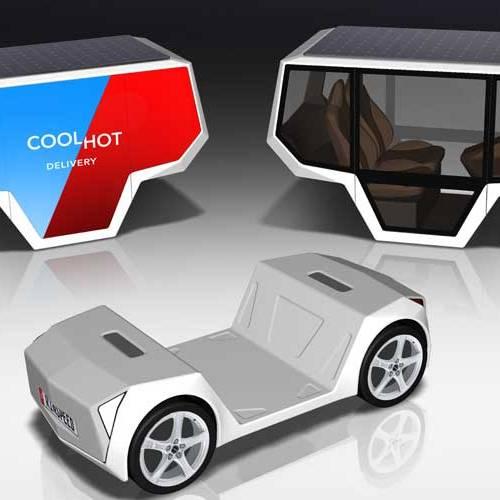 MicroSNAP, el futuro coche autónomo con cuerpos intercambiables