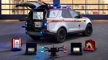 Land Rover Discovery Cruz Roja