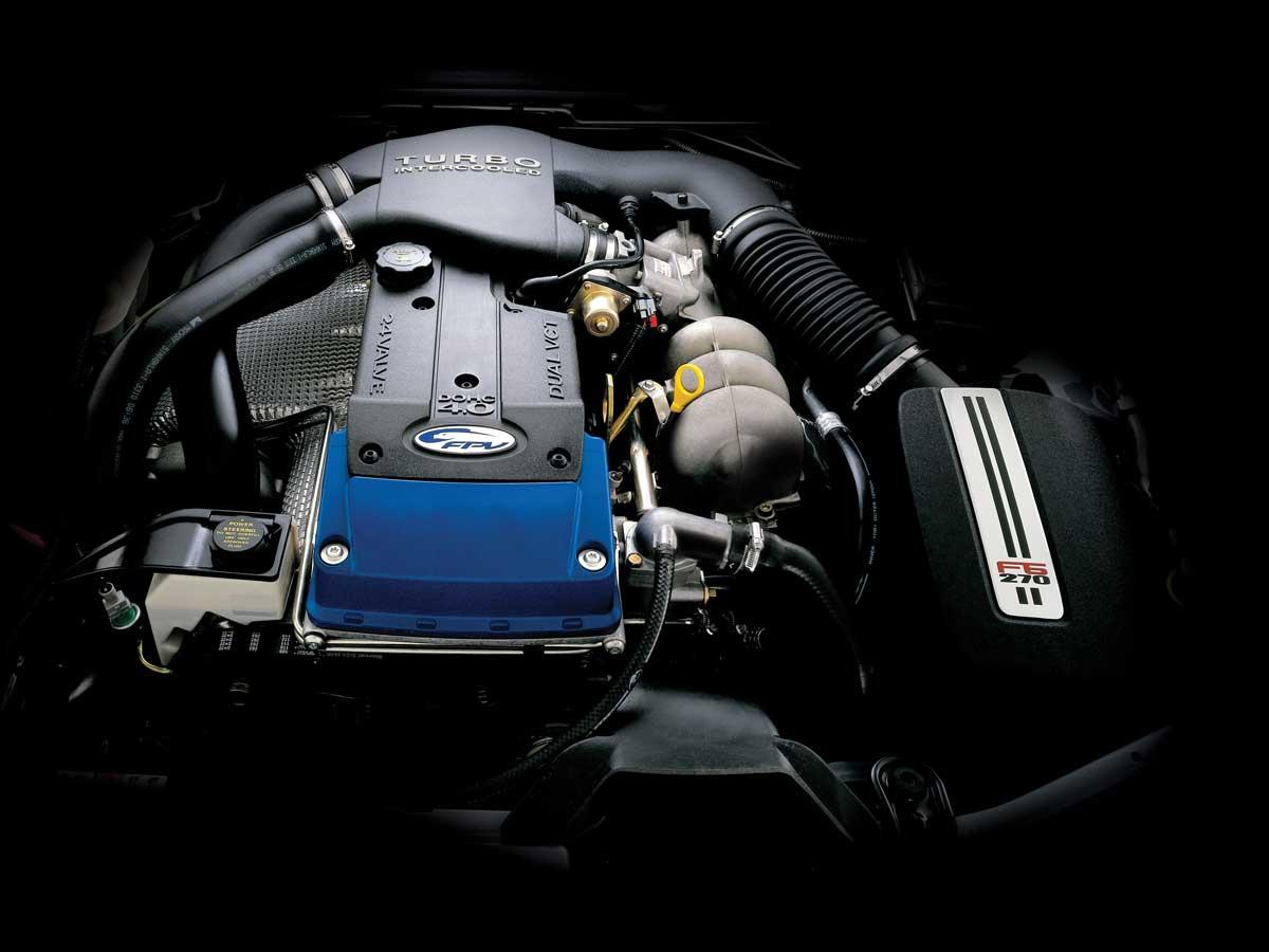 motor Ford Falcon