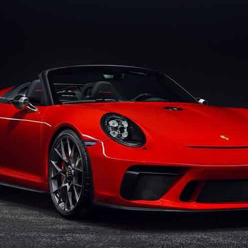Porsche 911 Speedster: producción en edición limitada