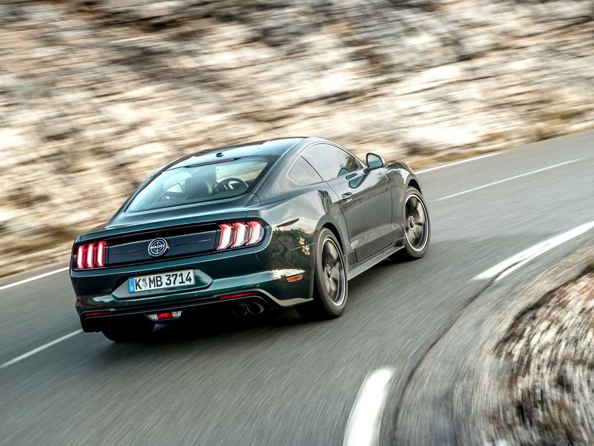Prueba Ford Mustang Bullitt