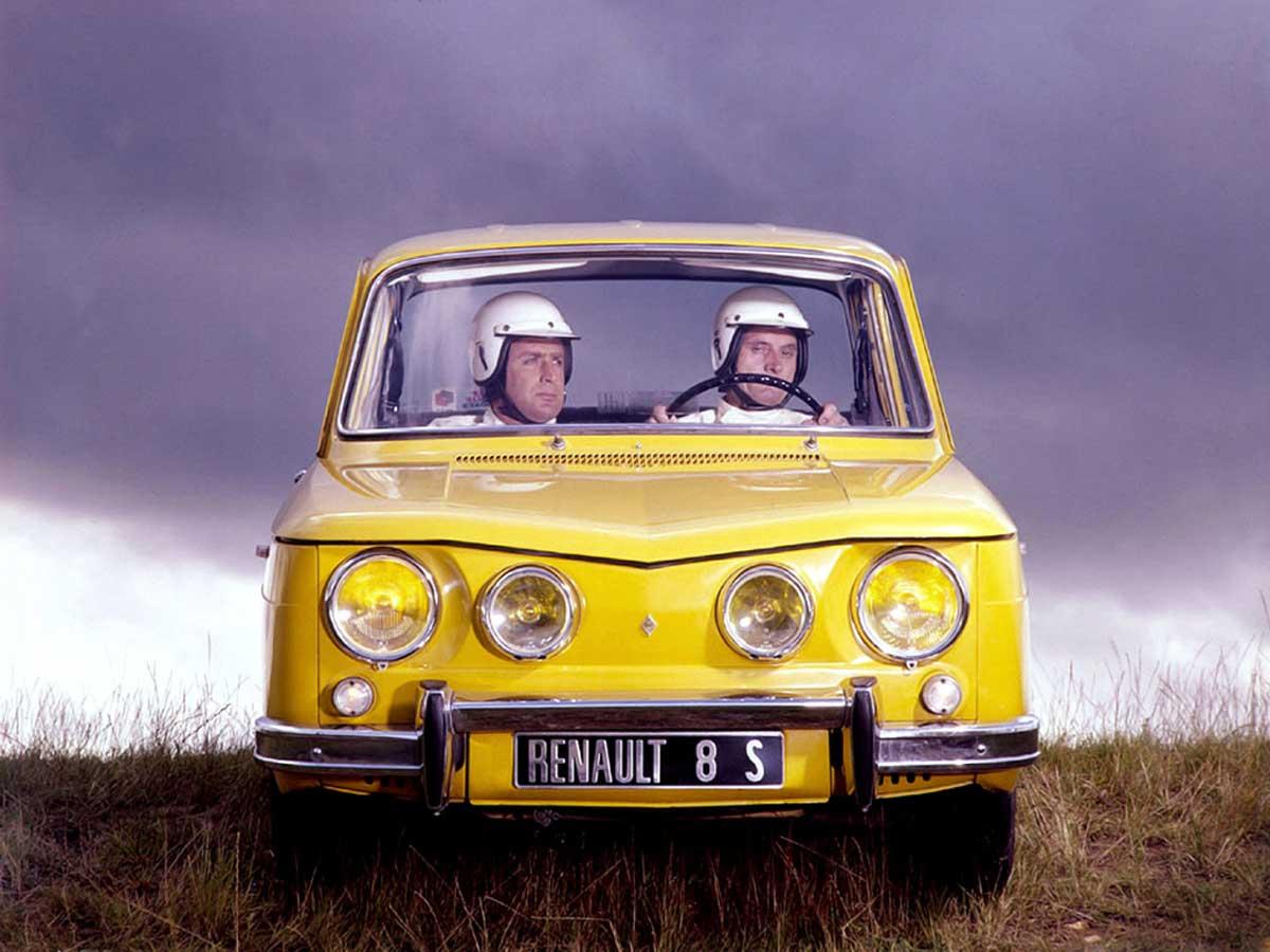 Renault 8 S (1969–71).