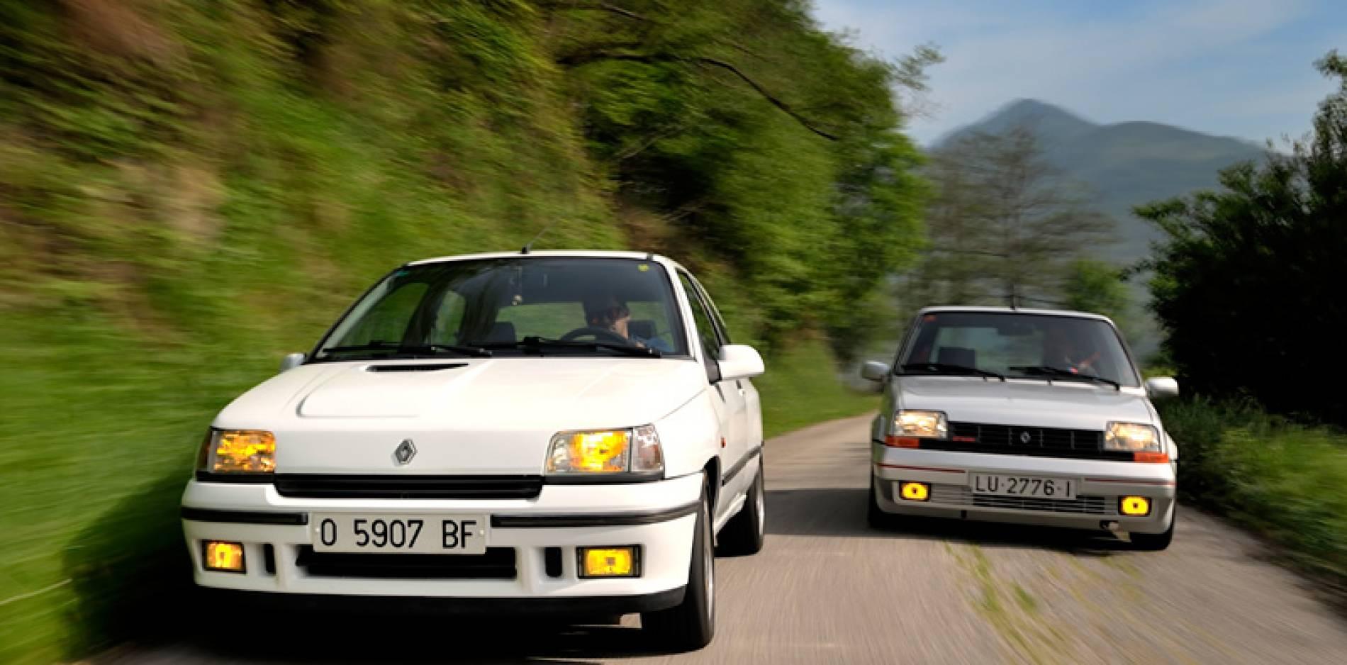 Renault Clio 16v vs. Renault 5 GT Turbo: caminos opuestos