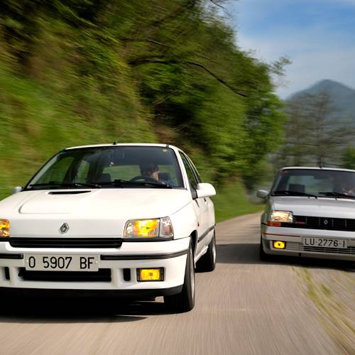 Renault Clio 16v vs. Renault 5 GT Turbo: caminos opuestos