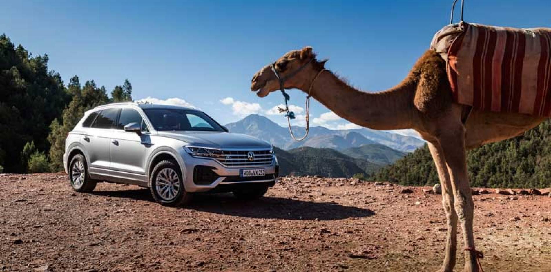 Volkswagen Touareg: descubrimos sus programas de conducción Off-road
