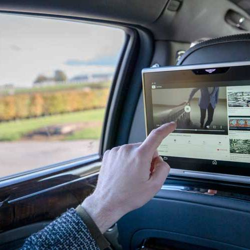 Bentley instalará wifi rápida y segura en todos sus coches