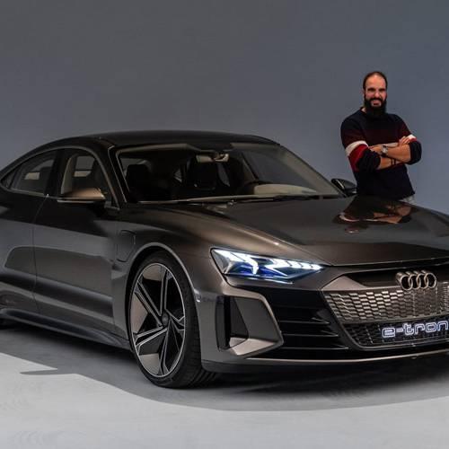 Conocemos el Audi e-tron GT Concept: adelantado a su tiempo