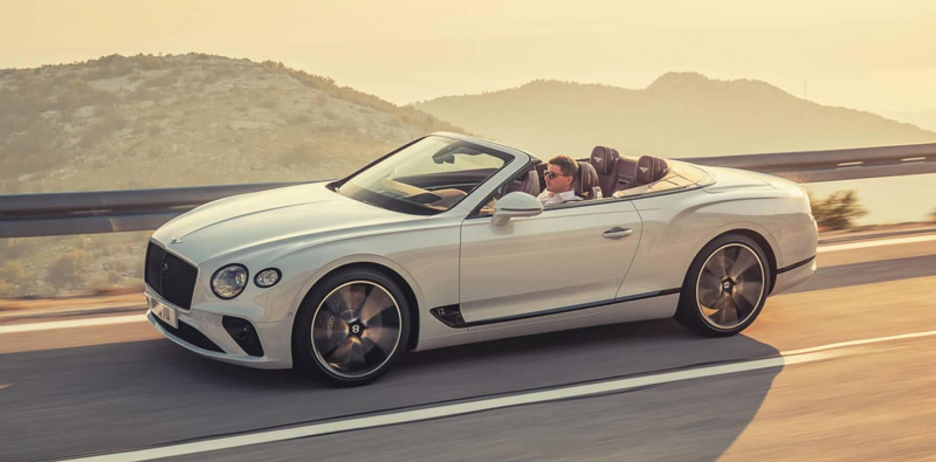 Bentley Continental GT Convertible, ahora, el lujo y el placer, a cielo descubierto