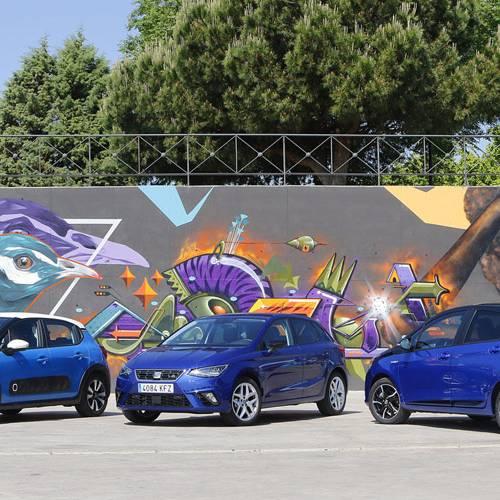 Comparativa ECO: Citroën C3 GLP, SEAT Ibiza GNC y Toyota Yaris Hybrid. Y el ganador es…