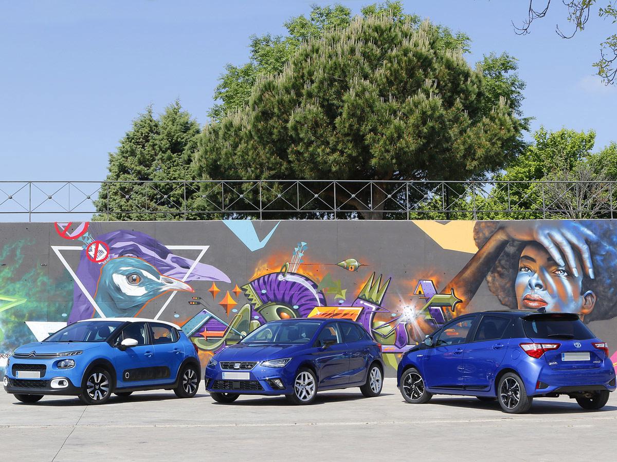 Citroen C3 SEAT Ibiza Toyota Yaris