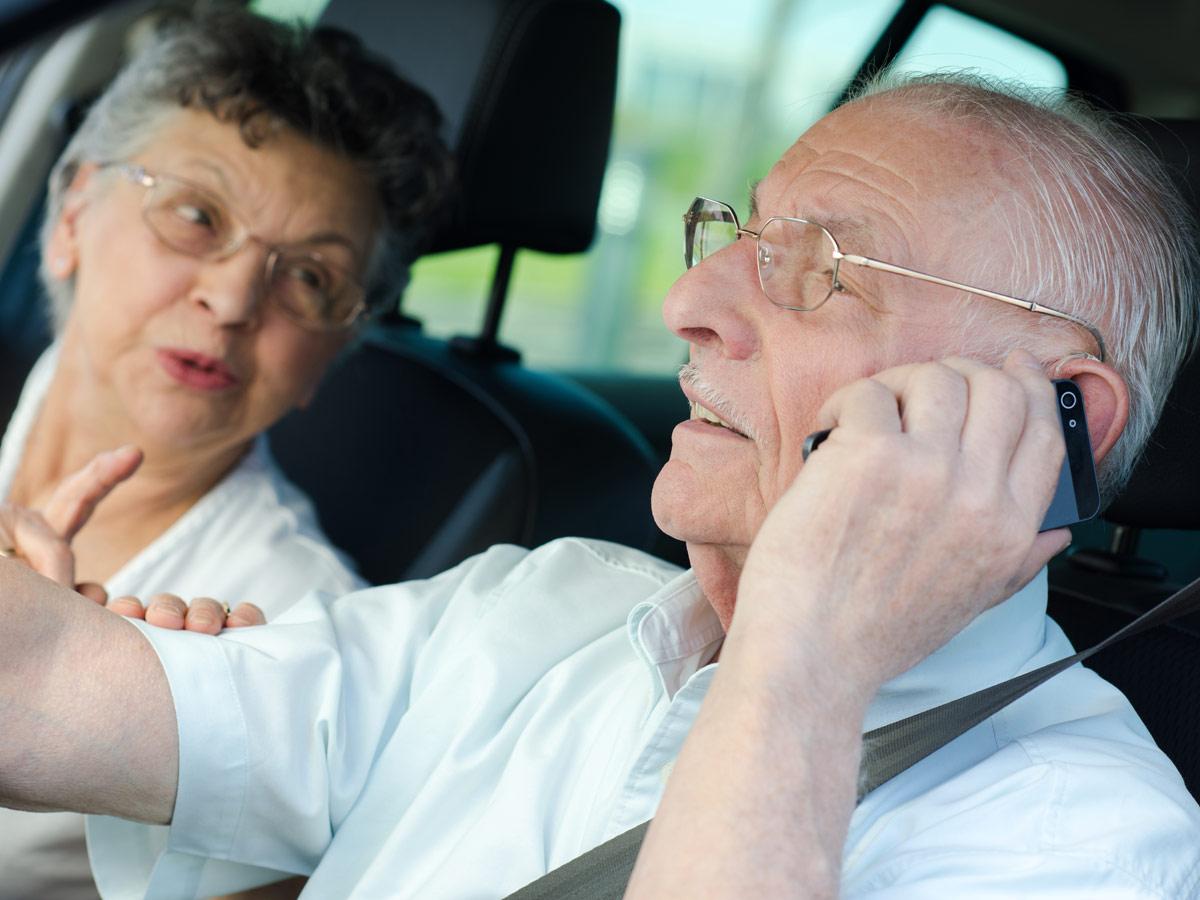 Conducir mayores 65 años