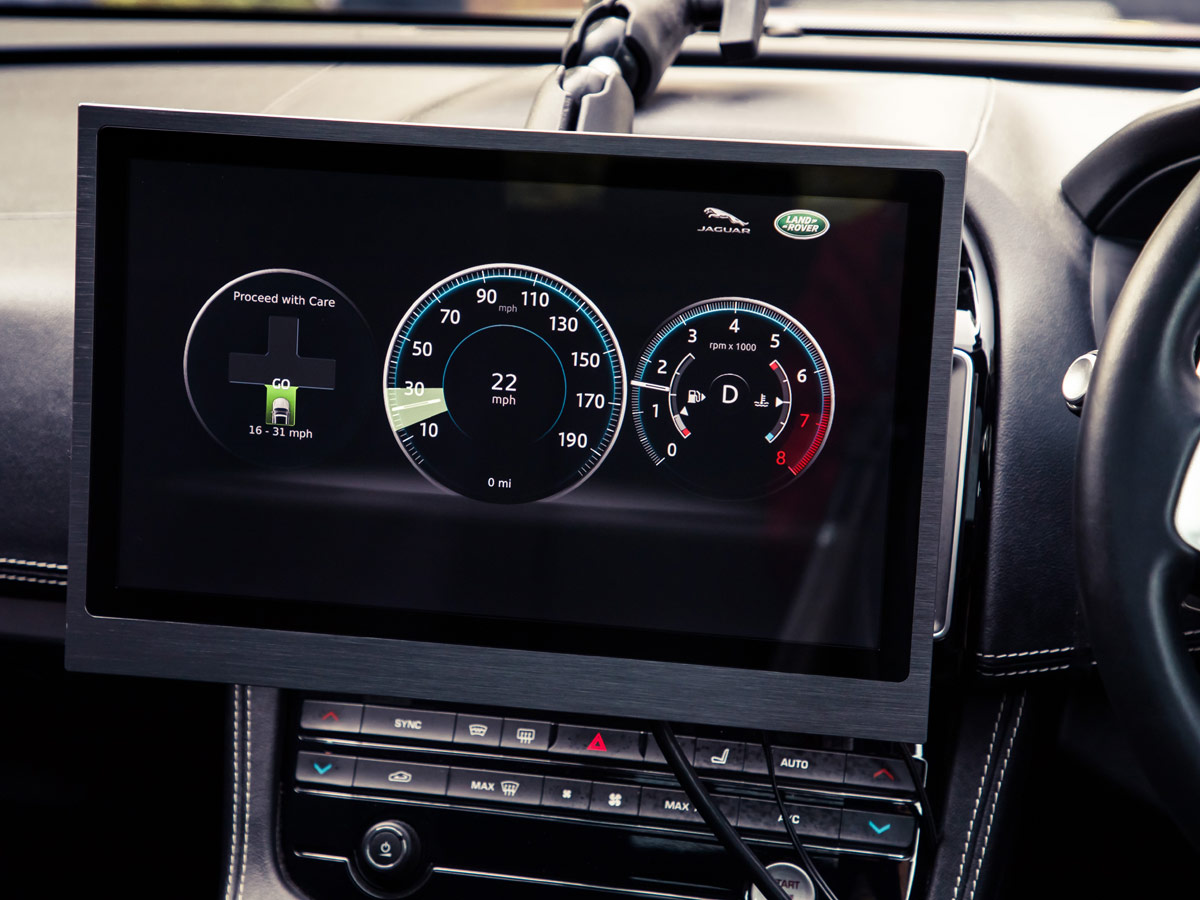 Jaguar Land Rover semáforo