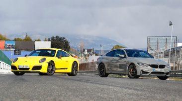 Porsche-911 y-bmw-m4