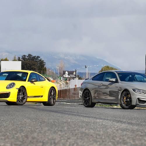 ¿Cuál es el mejor, el BMW M4 CS o el Porsche 911 Carrera T PDK?
