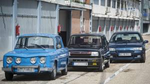 Renault 8 TS, 5 Alpine y Clio Williams, cuestión de ADN