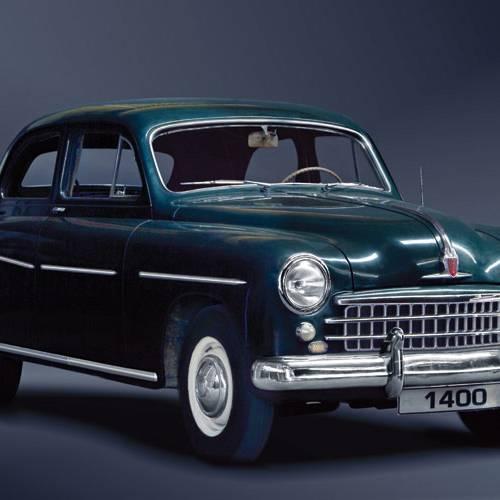 El SEAT 1400 cumple 65 años: contigo empezó todo