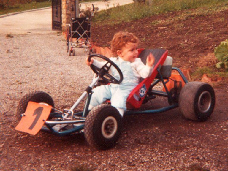 1984 – Su primer Kart – Nombre desconocido
