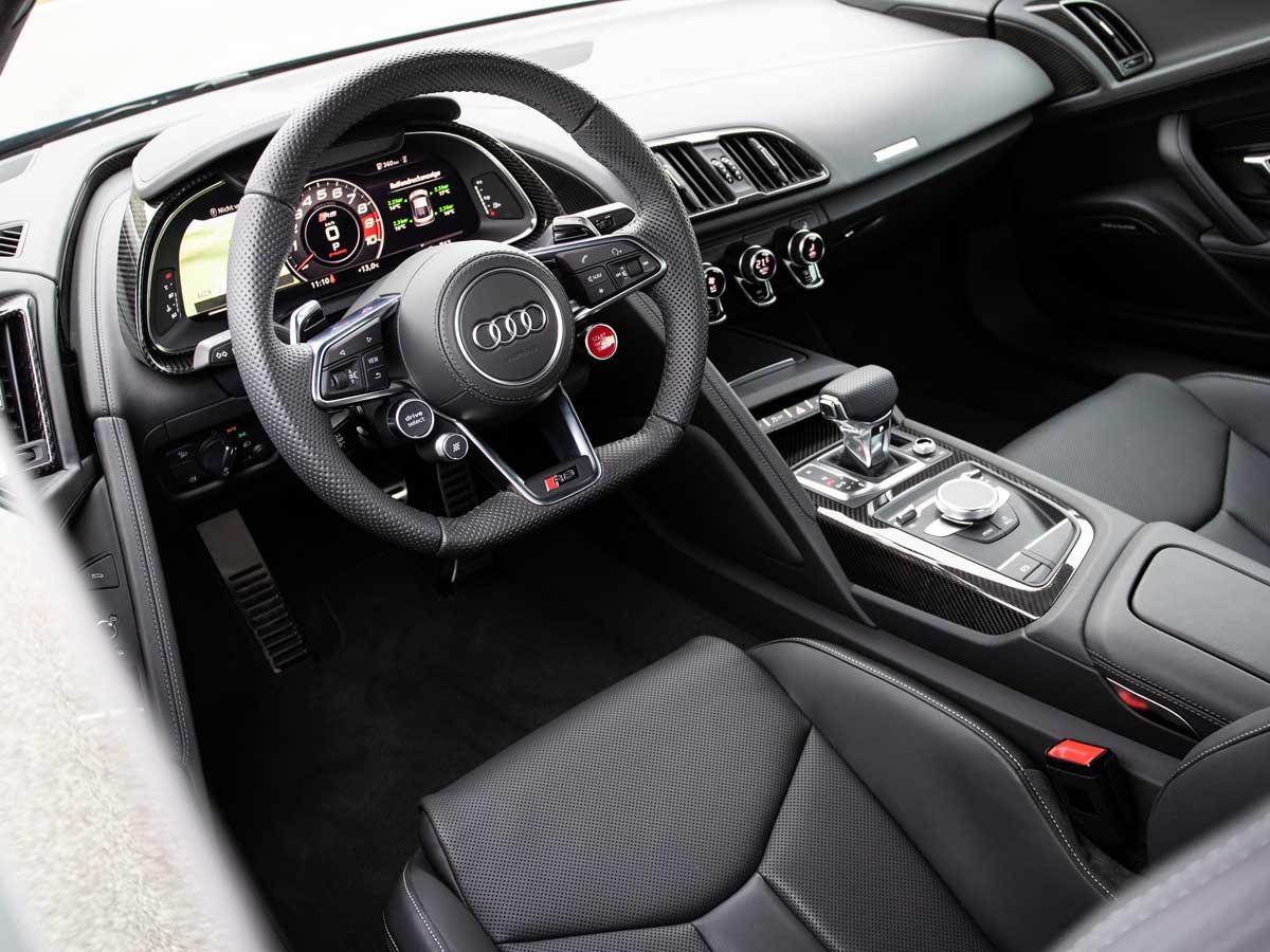 Prueba Audi R8 2019