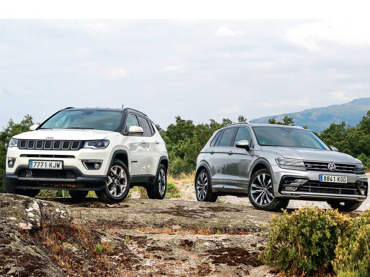 Jeep Compass vs. Volkswagen Tiguan: