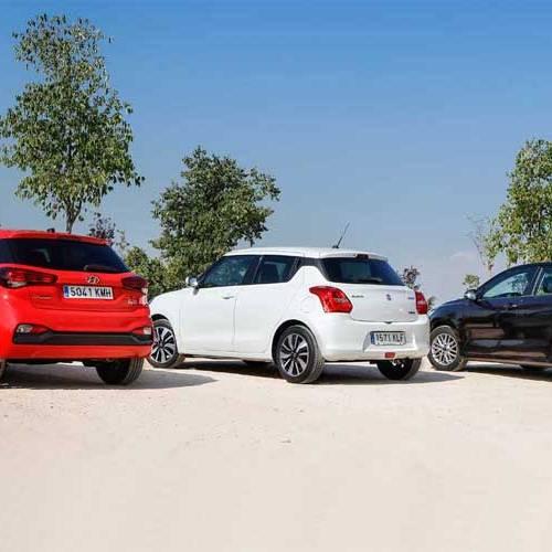 ¿Cuál es mejor, el Hyundai i20, el KIA Rio o el Suzuki Swift?